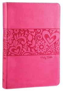 NIV Gift Bible For Kids Pink (Red Letter Edition)