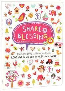 Sticker Book: Share a Blessing