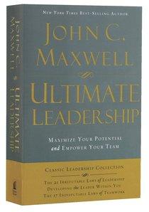 Maxwell 3-In-1: Ultimate Leadership