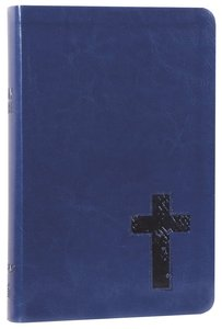 NKJV Personal Giant Print Reference Bible Navy (Red Letter Edition) (Essentials)