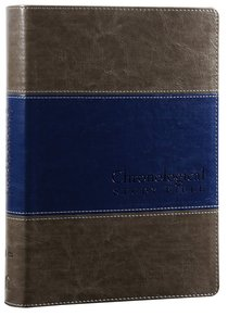 NIV Chronological Study Bible Rich Stone Rich Midnight Blue