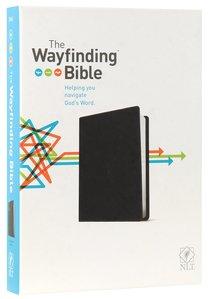 NLT Wayfinding Bible Black (Black Letter Edition)