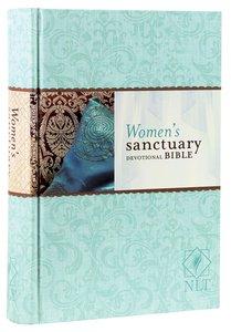 NLT Womens Sanctuary Devotional Bible (Black Letter Edition)