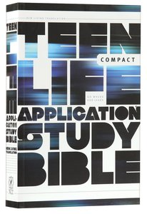 NLT Teen Life Application Study Bible Compact Edition (Black Letter Edition)