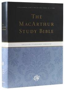 ESV Macarthur Study Bible (Black Letter Edition)