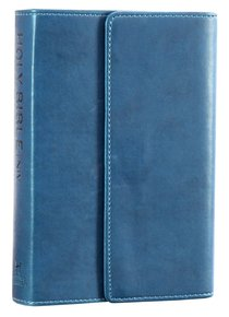 NIV Pocket Bible Blue Soft-Tone With Clasp