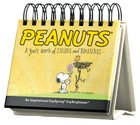 Daybrighteners: Peanuts - a Year's Worth of Smiles and Blessings (Padded Cover) Spiral