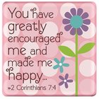Ceramic Dots Magnet: Grandma - You Have Greatly Encouraged Me... (2 Cor 7:4) Novelty