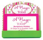 Scripture Card Holder:31 Scripture Cards, a Prayer For Today