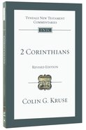 2 Corinthians (Tyndale New Testament Commentary (2020 Edition) Series) Pb Large Format