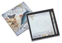 Memo Pad & Pen Giftset (Vintage Travel Gift Collection Series)