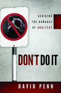 Don't Do It eBook