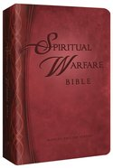 The MEV Spiritual Warfare Bible Imitation Leather