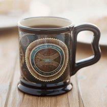 Pillar Mug: Mighty Clockworks Dark Blue (Psalm 31:14)