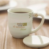 Teacup With Lid: Windsong, (The Doxology)