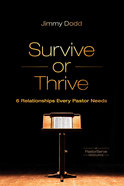 Survive Or Thrive Paperback