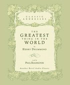 The Greatest Thing in the World (Unabridged) CD