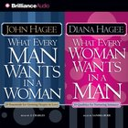 What Every Man Wants in a Woman; What Every Woman Wants in a Man eAudio