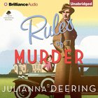 Rules of Murder (Drew Farthering Mystery Audio Series) eAudio