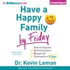 Have a Happy Family By Friday eAudio