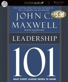 Leadership 101 (Unabridged) CD