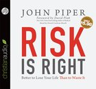 Risk is Right (Unabridged, 2cds) CD