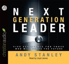 Next Generation Leader (Unabridged 4 Cds) CD