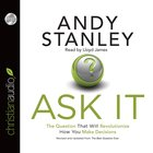 Ask It (Unabridged, 3 Cds) CD