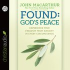Found: God's Peace (Unabridged, 2 Cds)