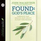 Found: God's Peace (Unabridged, 2 Cds) CD