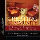 Creating Community (Unabridged, 3 CDS CD