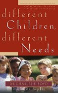 Different Children, Different Needs eBook