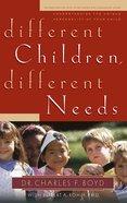Different Children, Different Needs eBook