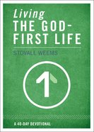 Living the God-First Life eBook