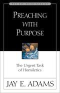 Preaching With Purpose eBook