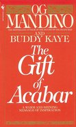 The Gift of Acabar Paperback