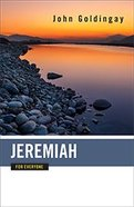 Jeremiah For Everyone (Old Testament Guide For Everyone Series) Paperback