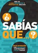 Sabas Que...? (Did You Know?) Paperback