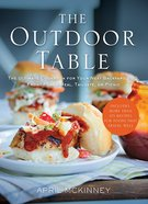 The Outdoor Table Paperback