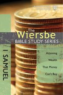 1 Samuel (Wiersbe Bible Study Series) eBook