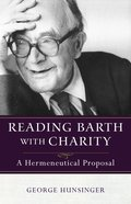 Reading Barth With Charity Paperback