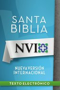 Nvi Santa Biblia Lectura Facil (Spa) (Spanish) eBook