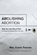 Abolishing Abortion eBook