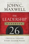 The Leadership Handbook Paperback