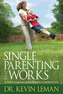 Single Parenting That Works eBook