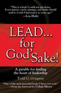 Lead... For God's Sake! eBook