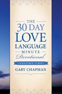 The 30-Day Love Language Minute Devotional #02 eBook