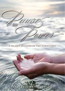 Pause For Power eBook