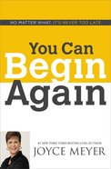 You Can Begin Again eBook