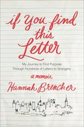 If You Find This Letter eBook